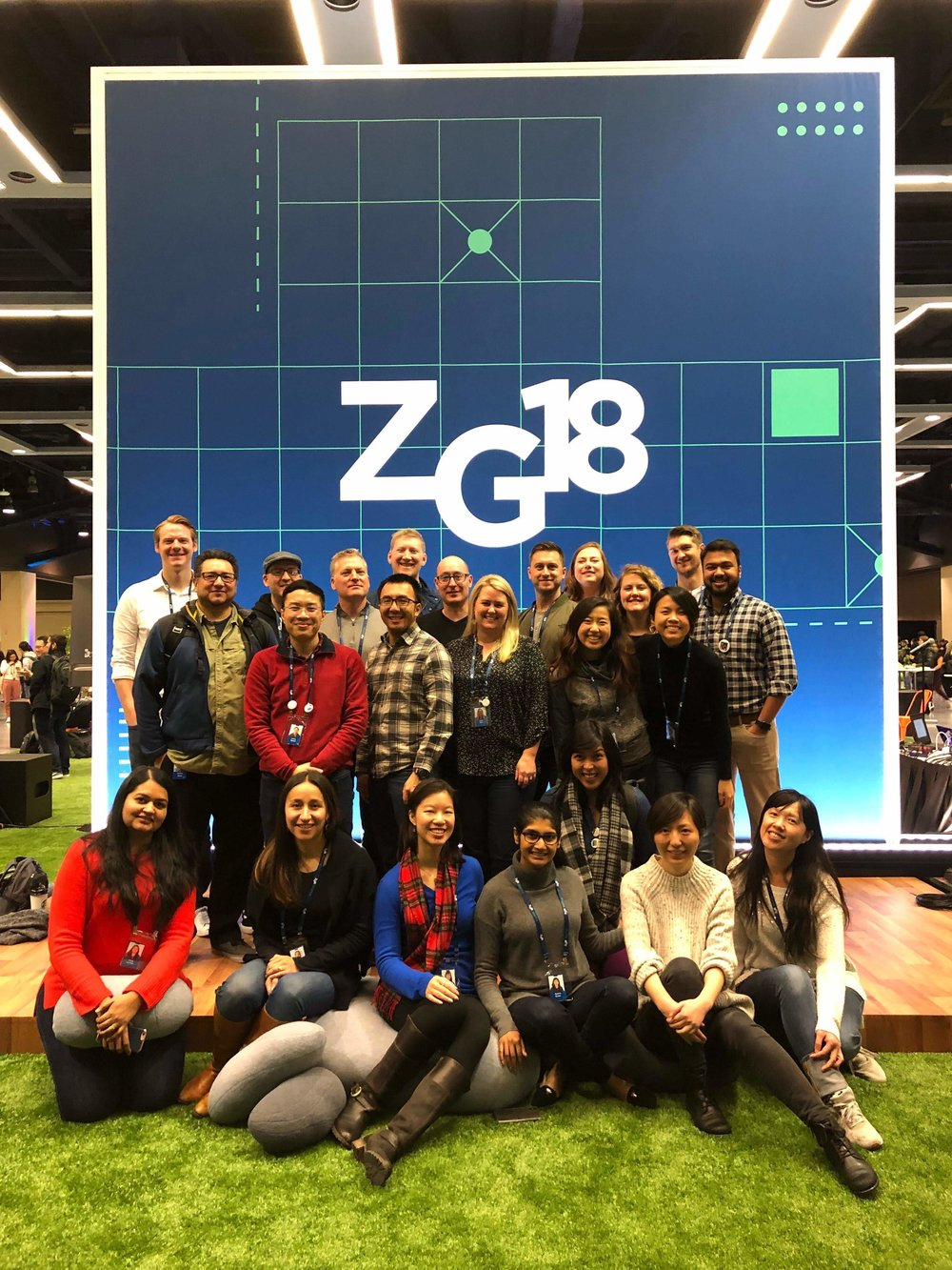 With teammates at the annual Zillow Group conference in Seattle