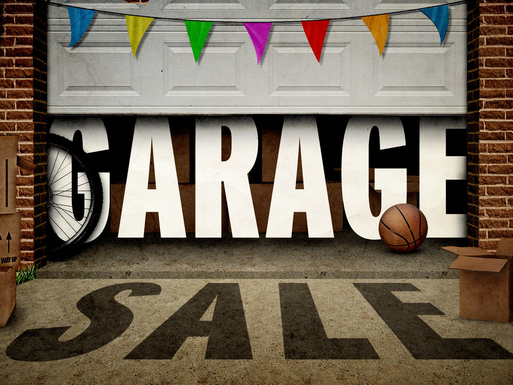 Garage Sale Supporting Missions in the Gym