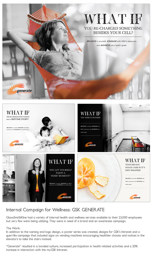 Internal Campaign for Wellness at GSK