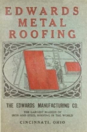 Metal Roofing Brochure from 1909.