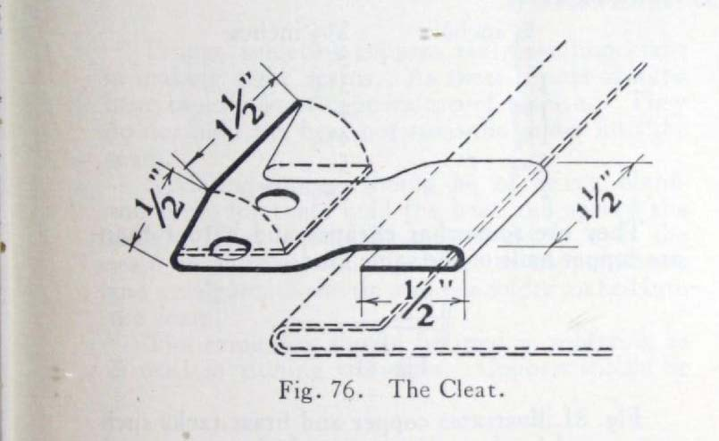 Fig. 76. The Cleat