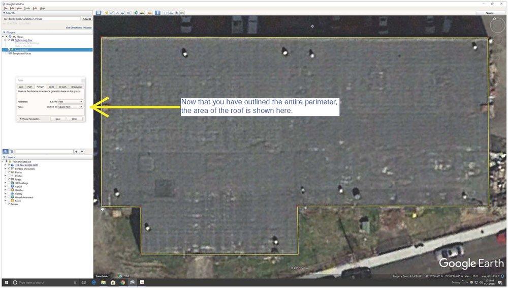 Screen Shot Google Earth Area of Roof.jpg