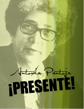 "ANTONIA PANTOJA FILM  - THURSDAY, MAY 4, 2017 | 6:00PM - 8:00PMCaribbean Cultural Center African Diaspora Institute120 East 125th StreetNew York, NY 10035Antonia Pantoja: ¡Presente!"" is the compelling story of a visionary Puerto Rican leader who fought for educational civil rights and Bilingual Education, founded Aspira, the Puerto Rican/Latino youth leadership organization that inspired multiple generations of young people across the country and Puerto Rico. Join us for a screening of this powerful film.Produced and Directed by: Lillian JimenezSuggestion Donation is $5.00"
