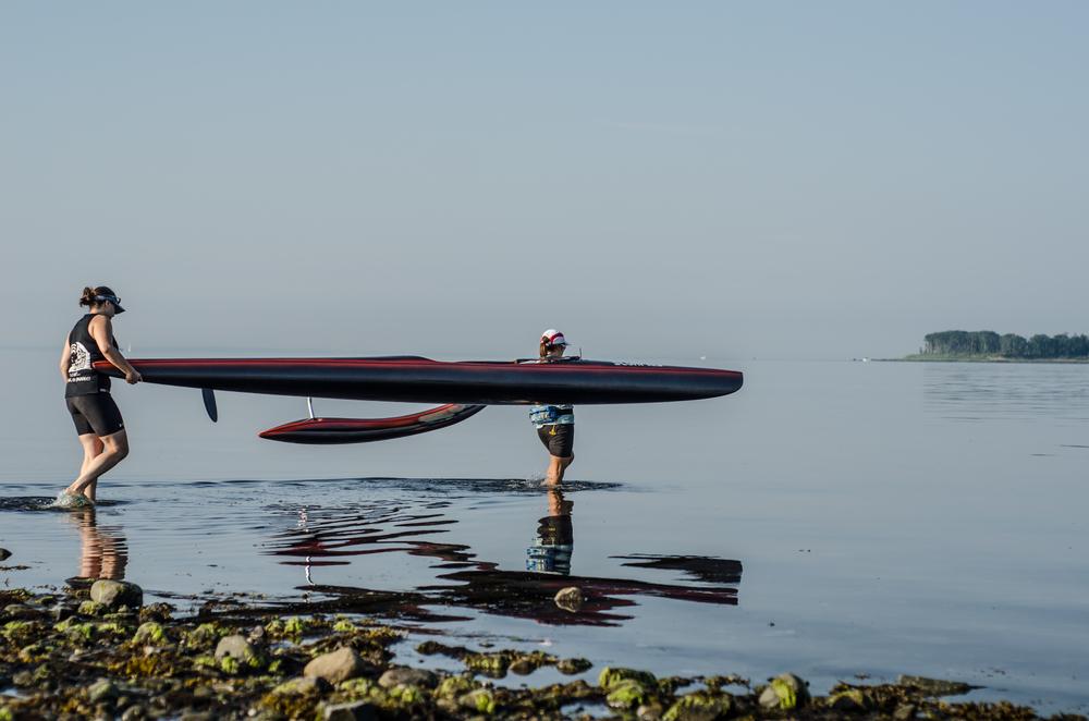 2014 Manuiwa OC1 & OC2 - Ladies OC2 Gulf Beach - Milford CT