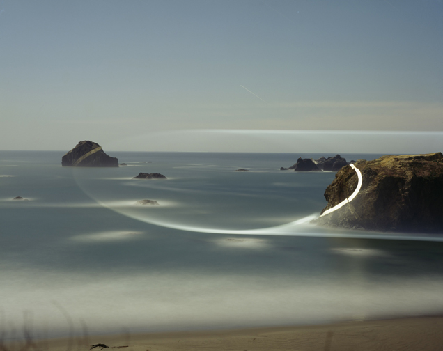 Bandon, Oregon II, Projected Light.jpg