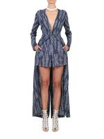 This season, shorts are the new black. Sooooo much easier than a skirt ( especially on windy days) and soooooo on trend. Team with Weave Print Maxi jacket for maximum effect