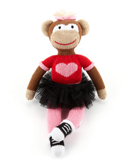 How cute is this Knitted Ballerina Doll $37.40 ( there's one for boys too) Neiman Marcus - perfect Christmas Gift