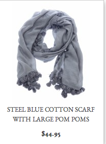 A scarf will add your own unique touch to any outfit and is a quick way to update your look