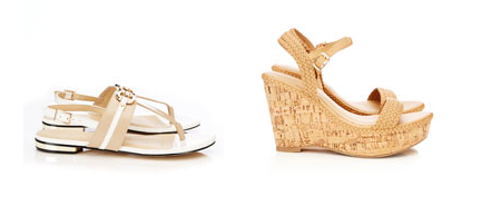 Sandals approx $ 46, Wedges approx $56
