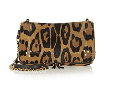 Jerome Dreyfuss Bobi Leopard Print Bag