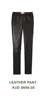 6. An absolute wardrobe must have this season is a skinny leather pant. Country Road brings to us this perfect shape