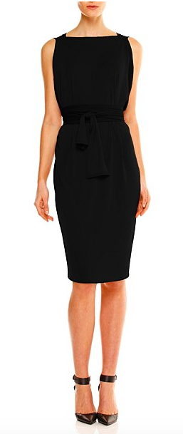8. Did any one say LBD? Where would we be without our little black dress? Go from day to night in this column dress from the queen of dresses- Sacha Drake ( available through Chic Image) $229
