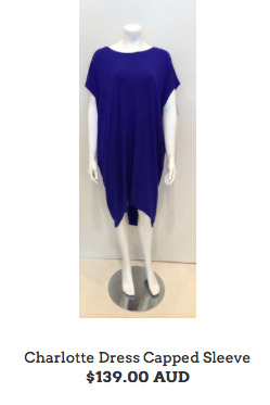 "9. Nothing says ""new season"" like an injection of colour. Cobalt is the colour of the season. The Luxe Collection Charlotte dress gives us comfort and style. This will become a firm favourite in your wardrobe as it's easy care, easy wear and looks amazing on the body. ( available through Chic Image)"