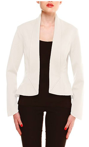 10. Top it all off with this fab quilted jacket from Sacha Drake $229 ( available through Chic Image)