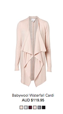 10. Long Line cardi's are always a great addition in case the weather turns - loving this one from Country Road