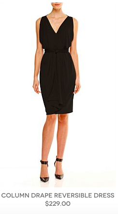 1. Little Black Dress - perfect for a night out or casual lunch - Sacha Drake