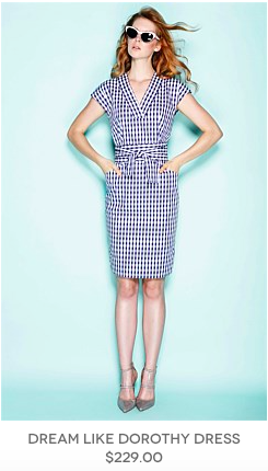 2. Day Dress - a fun lightweight throwon from Sacha Drake,which will take you anywhere
