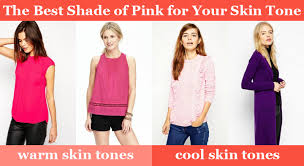 It's not just about which colour suits you- it's about which tone of colour suits you