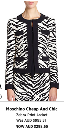 For a little wow factor- this jacket is a must