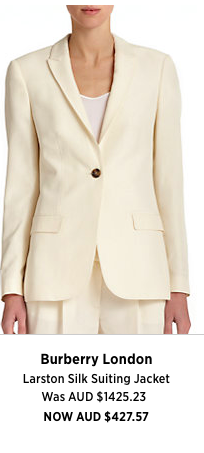 Winter White is super stylish and on trend - a perfect shape for taller girls or this with a boyish figure
