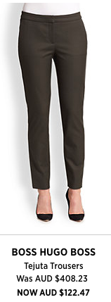 A perfect pant for work, rest and play