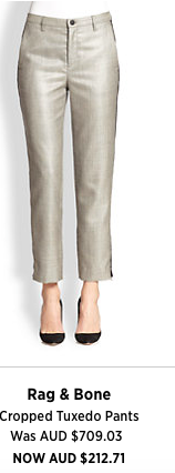 A favourite look of mine this season - the skinny crop pant with a pump - great for work, travel and weekend