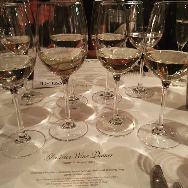 Bledisloe Wine dinner #Australianrugby#yummywine#gothewllabies#publicdiningroom