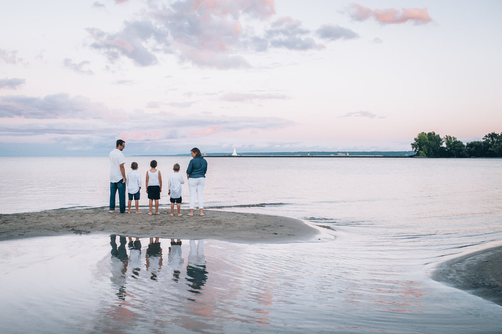 beach session, family, Burlington family photographer, family photographer, family, burlington beach, family session