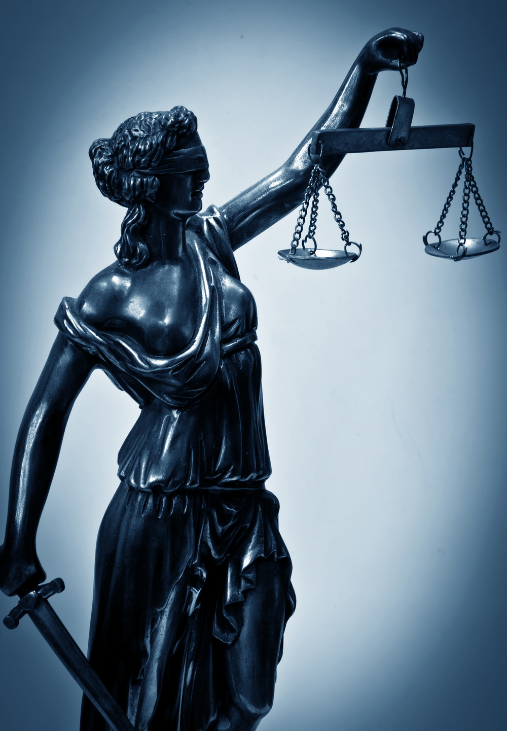 Justice Is Blind - Except for the Police — Michael Spratt