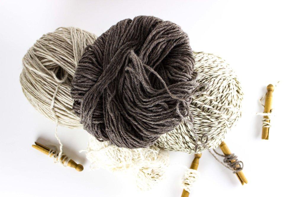 yarn and yarn holders