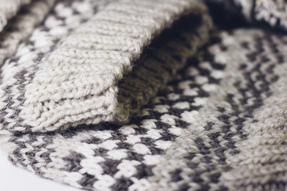 multiple knitting hats