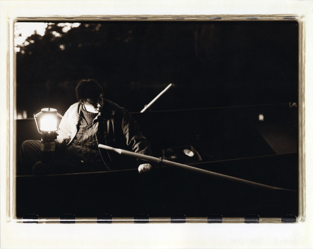 SUE LLOYD  Three Part Boat(Mid): Series Search  , 1999-2000 C-print