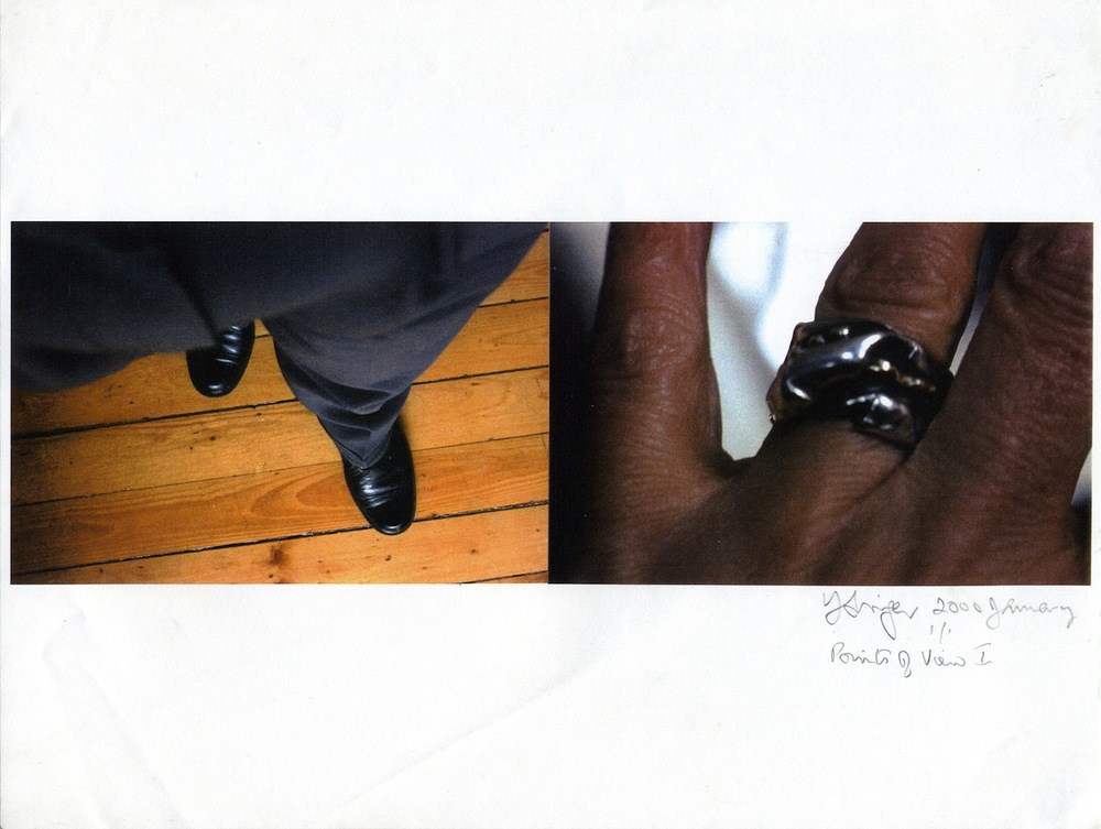 YVONNE SINGER  Points of View Series  , 2000 C-print