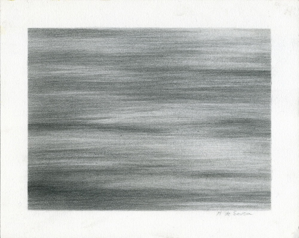 MARIE DE SOUSA Untitled , 2000 Graphite on paper