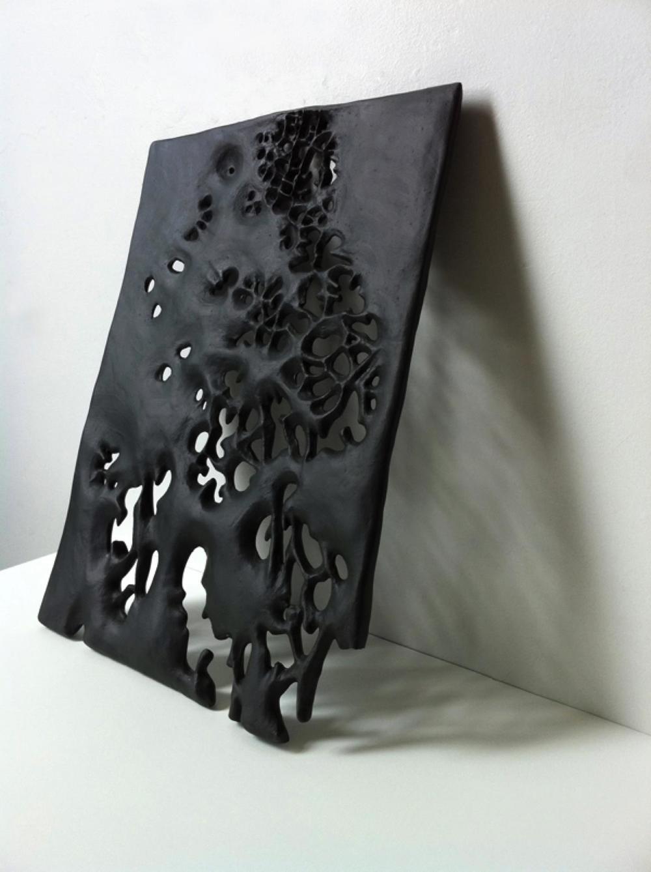 """FIRTH MACMILLAN    Canopy,  2011. Ceramic, 11x15x.5"""""""