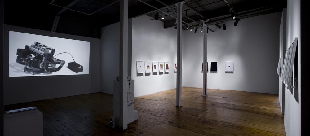 ZEV FARBER  Greg McRoberts , 2012 Installation view