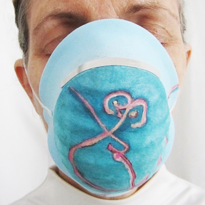 ELAINE WHITTAKER Screened for Ebola, 2015 Digital print, 16 x 16 inches