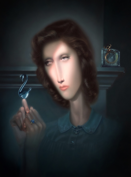 Troy Brooks, Heart of Glass, 2015. Oil on canvas, 18 x 24 inches.