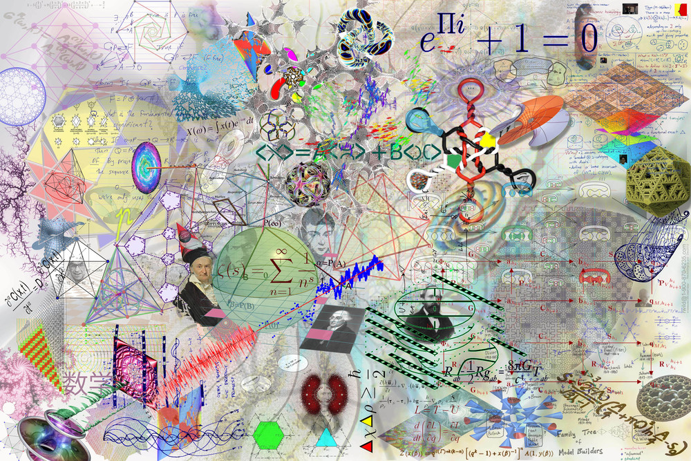 "RON WILD Reckoning, 2013 Digital Print on Canvas 36"" x 24"""