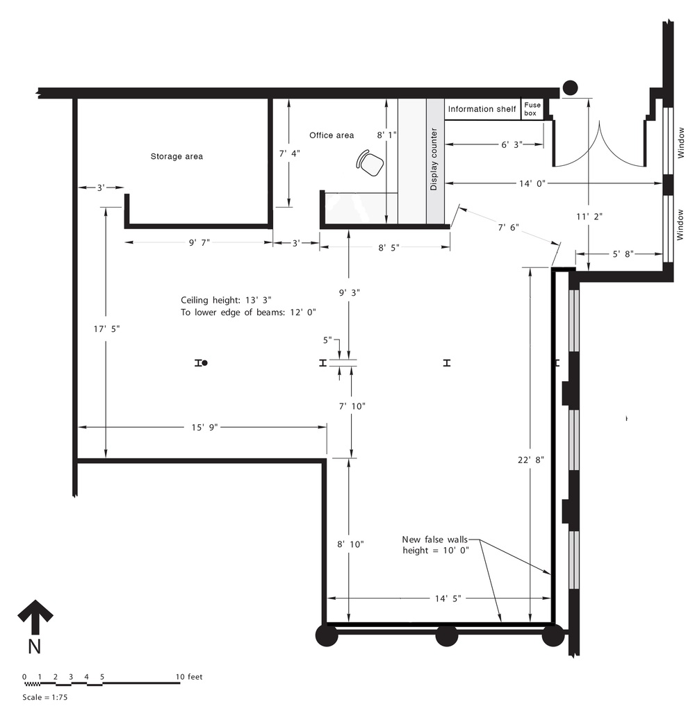 Red Head Gallery Floor Plan