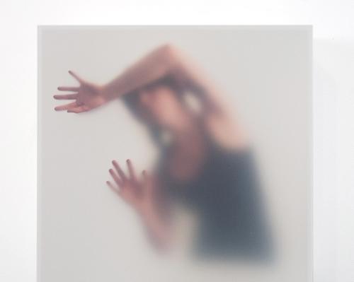 """Untitled #7 Inkjet prints, acrylic box, Styrofoam, acrylic gel, archival foam core, tape 12"""" x 12"""" x 4"""""""