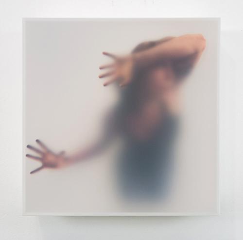 """Untitled #11 Inkjet prints, acrylic box, Styrofoam, acrylic gel, archival foam core, tape 12"""" x 12"""" x 4"""""""