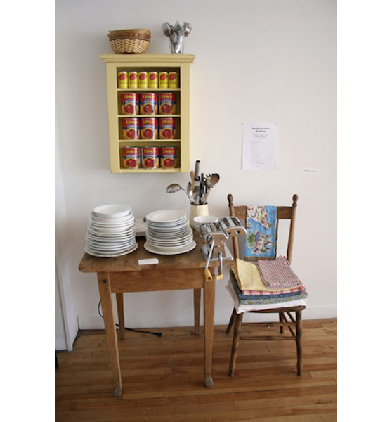 Pasta Suppers, Pasta table, 2010 – Present Community workshop and supper 2 – 6 hours
