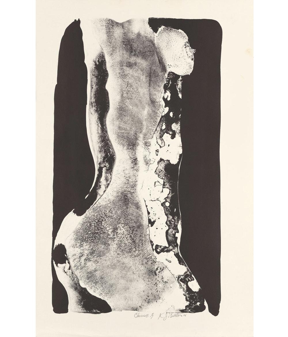 Cherie 1  Lithograph, 5/7 1968