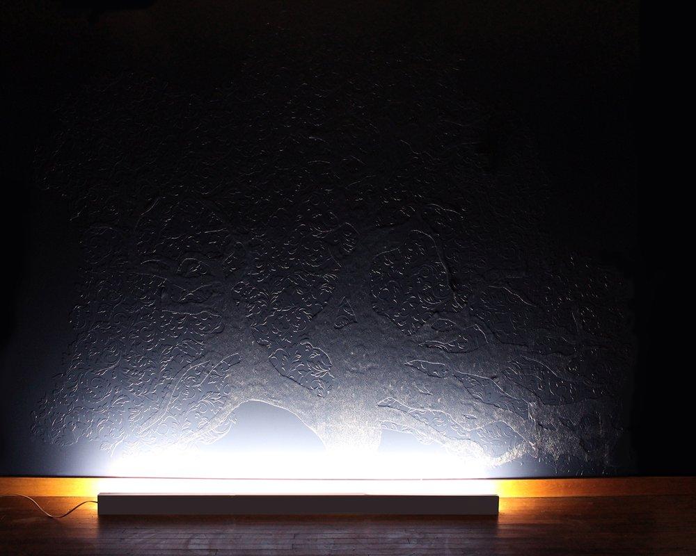 Fragment 47, 2017 Prefab Wallpaper