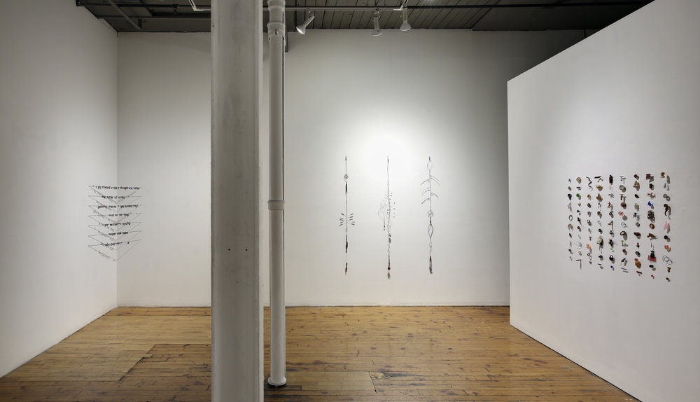 ReMemory,  2018 Installation view at the Red Head Gallery