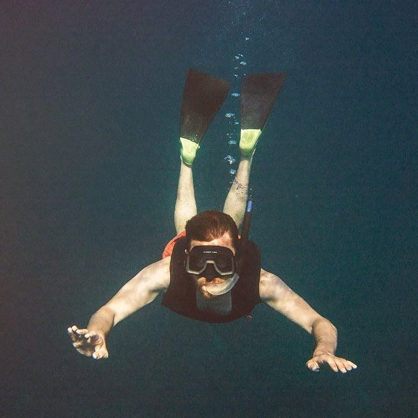 This is what I look like underwater.