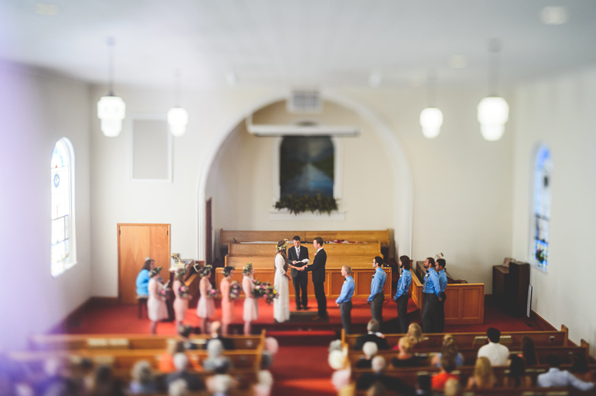 022 creative wedding ceremony tilt shift