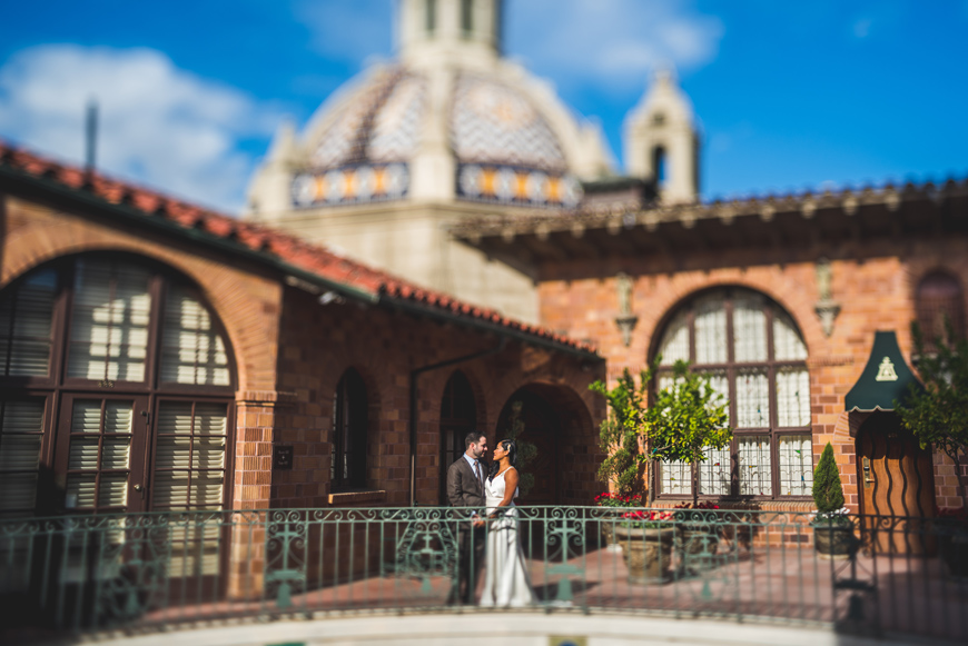 026 Mission Inn california Freelens wedding portrait