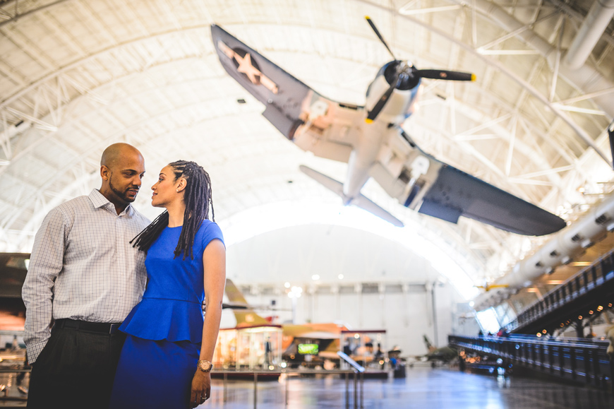 034 Air and Space Museum engagement session